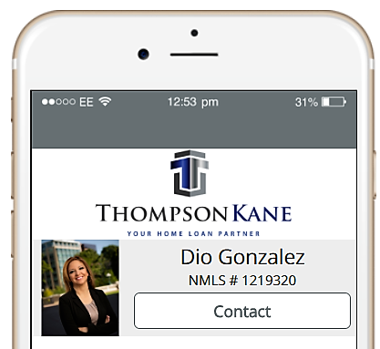 Download Dio Gonzalez Senior Mortgage Loan Officer Phone App